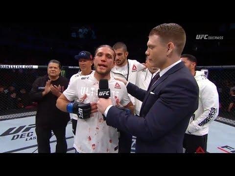 Fight Night Fresno: Brian Ortega Octagon Interview