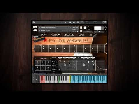 Evolution Guitar Engine - Chord Modes And Strumming