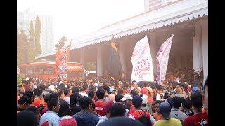 THE JAK MANIA Menyambut Kemenangan PERSIJA Di Balai Kota Jakarta (PERSIJA JUARA PIALA PRESIDEN 2018)