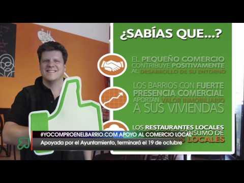 Campaña de apoyo al comercio local en Santander