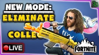 Fortnite Gameplay - New Improved Permanent Game Mode - Eliminate and Collect