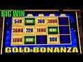 ★BIG WIN☆GOLD BONANZA Live Play /Bonanza Feature & Free spins Bonus Big Win!! @Barona & San Manuel☆彡