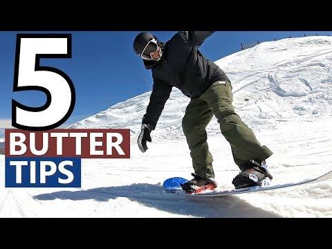 5 Tips For Butter Snowboard Tricks