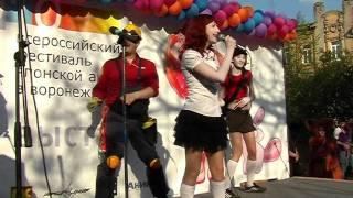 Мира - Caramelldansen Russian Cover =^_^= НЯ! LIVE