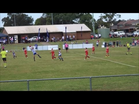 South Campbelltown Kangaroos v Wollondilly Redbacks U11's AFL 23 April 2017