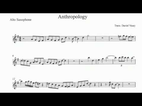 Transcription of Anthropology -- Charlie Parker