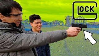 SİLAH ile DRONE Vurmaya Çalıştık! (Glock 19) w/ Bafır Adam