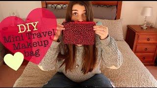 DIY Mini Travel Makeup Bags   Tamea Taylor