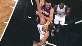 Larry Nance Jr Puts Lopez on a Poster | 12.14.16
