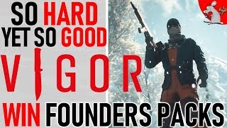 VIGOR IS LIVE NOW AN IS SO HARD! BUT ALSO GOOD! VIGOR GAMEPLAY