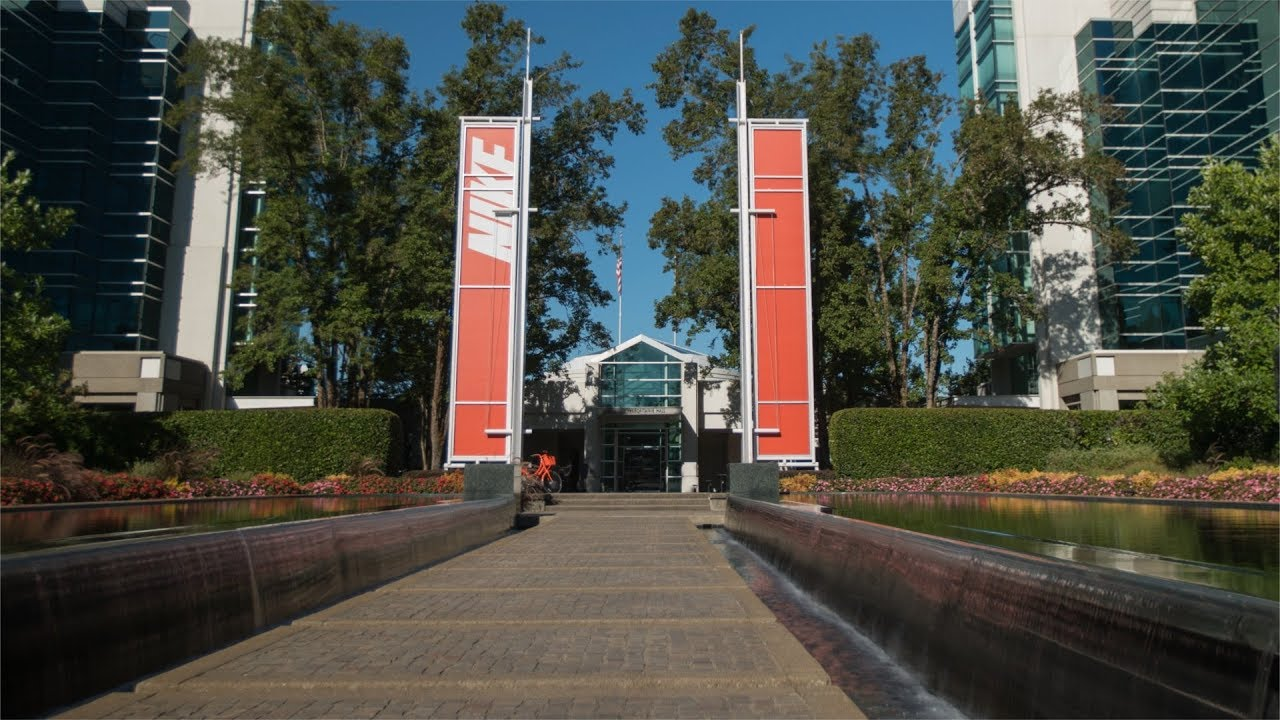 41e50856fdb179 Tour Nike s World Headquarters Campus - YouTube
