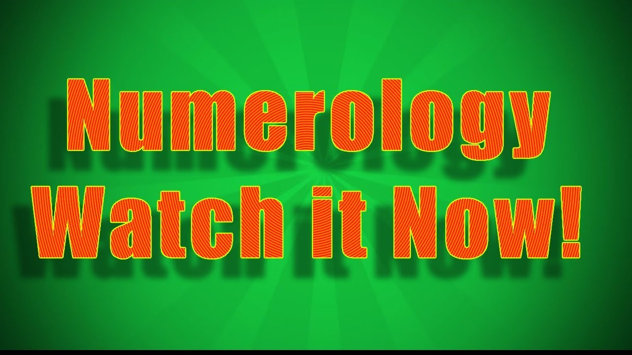 Egyptian Numerology Chart - How To Find Your Egyptian Numerology Number -  Video