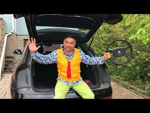 Red Man tore off Steering Wheel VS Mr. Joe on Audi Q3 in Car Service 13+