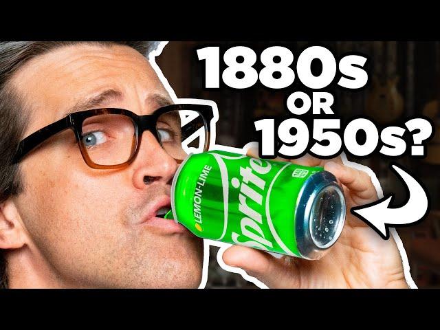 100 Years Of Soda Taste Test