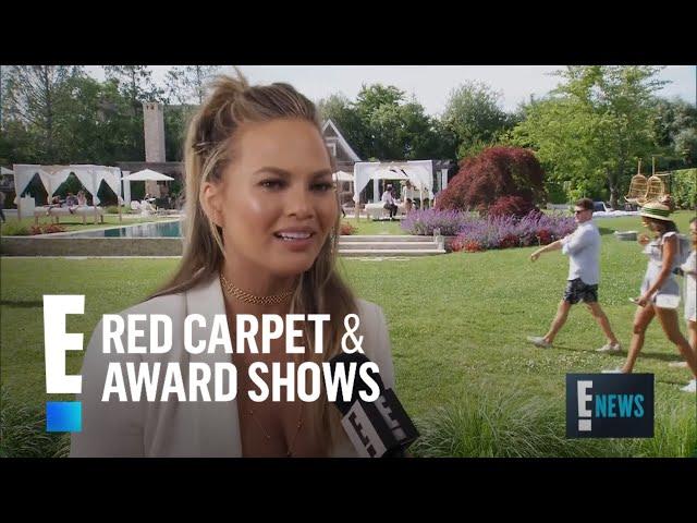 Chrissy Teigen\'s Post-Baby Body Secret! | E! Red Carpet & Award Shows