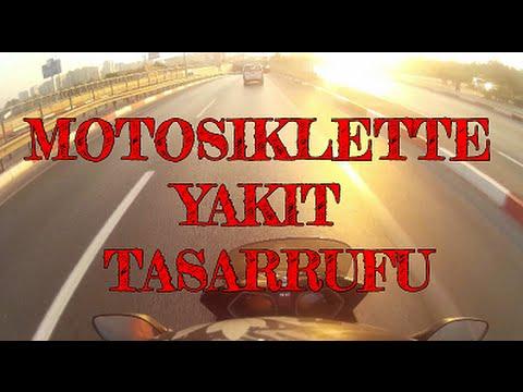 Motosiklette yakıt tasarrufu | Vlog | Bölüm 9