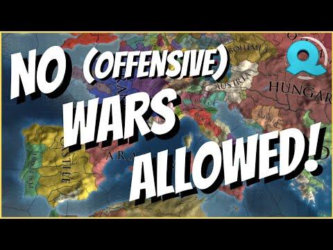 NO (OFFENSIVE) WARS CHALLENGE!   Europa Universalis IV [1.30.3]  