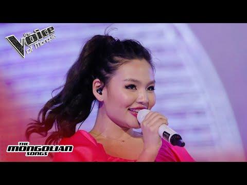 "Anujin.B - ""Хөдөөгийн сайхан талд зорино"" | The Quarter Final | The Voice Of Mongolia 2020"