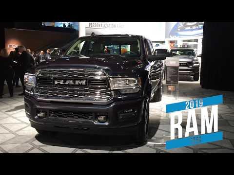 2019 Ram 2500 at Detroit auto show