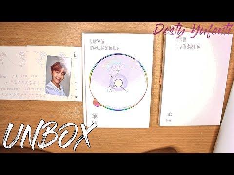 BTS LOVE YOURSELF 承 'Her' Album Unboxing || Desty Yufenti