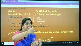 I PUC | Computer science | User defined functions-5