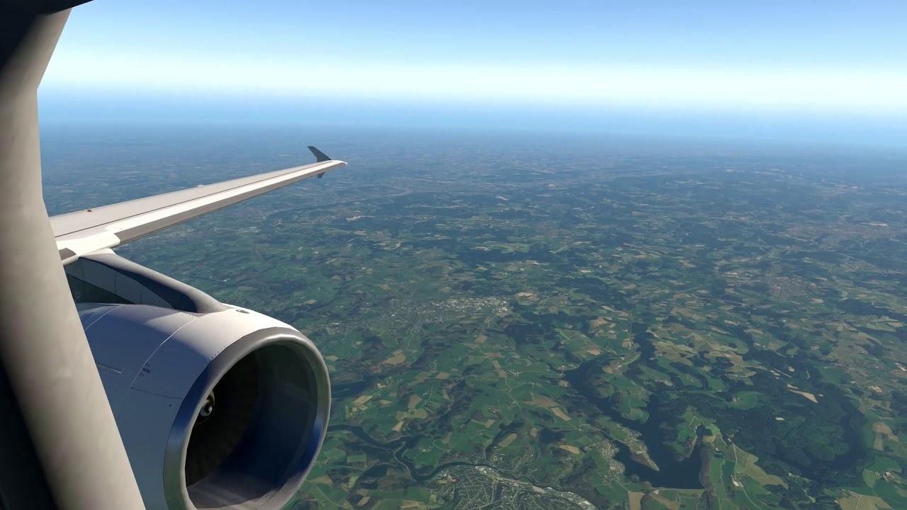 X-Plane 11 Flight Dusseldorf to Frankfurt (EDDL-EDDF) by Christopher Grof