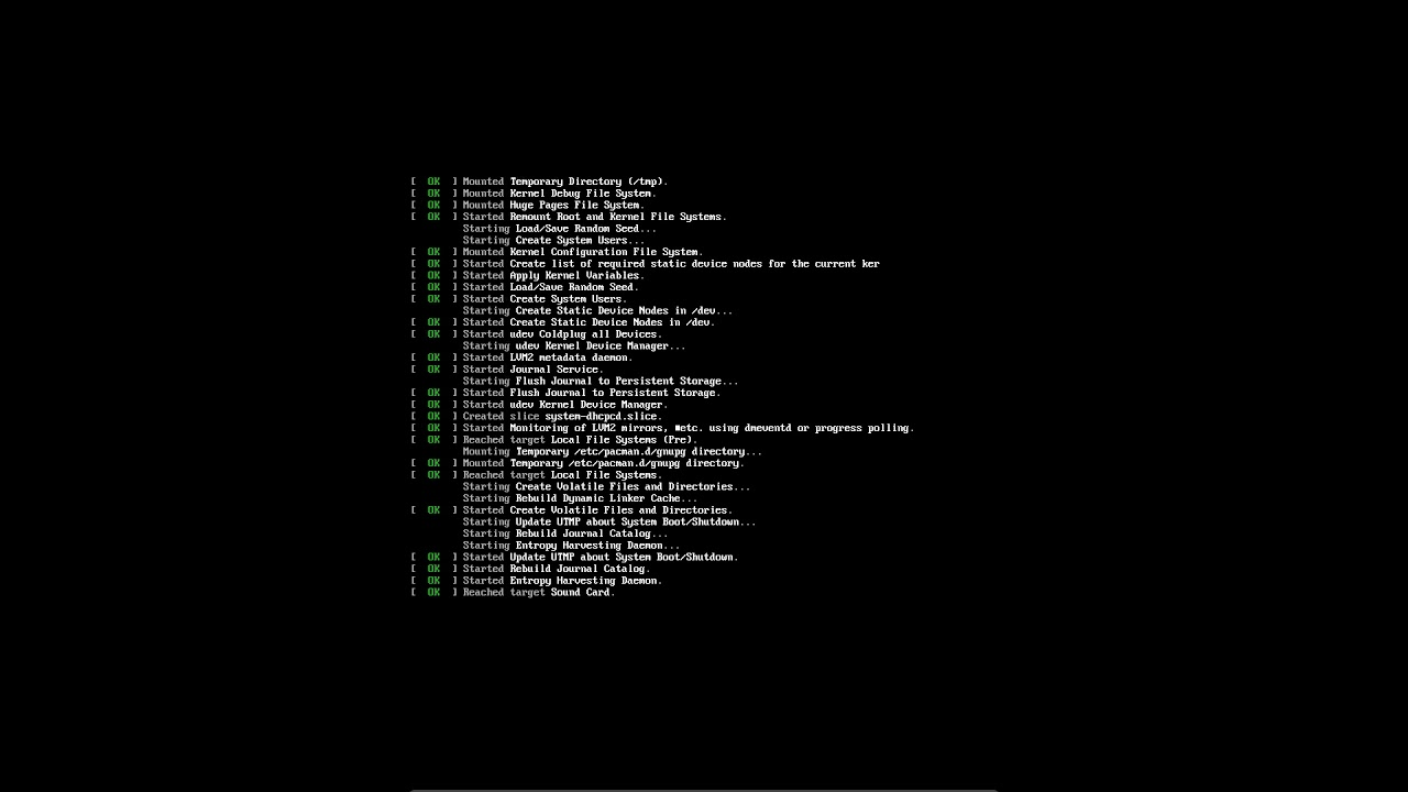 23 All in one Arch Linux installation UEFI with Qtile AIO