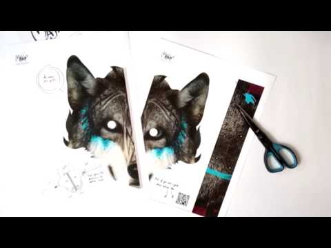 Wolf mask from MaskinBox