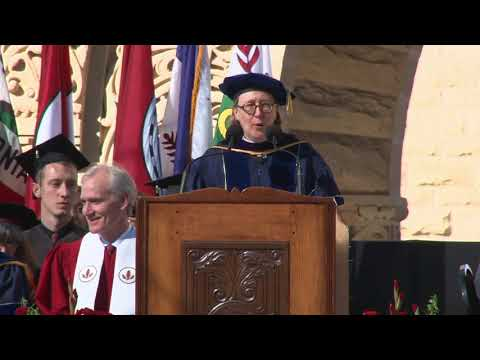 Stanford University Convocation 2017