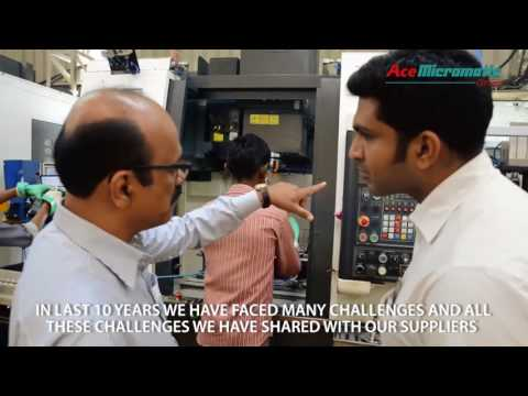 Ace Micromatic Group - CNC user testimonial:Kay Jay Forging