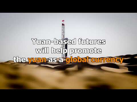 China launches yuan-denominated crude oil futures trading