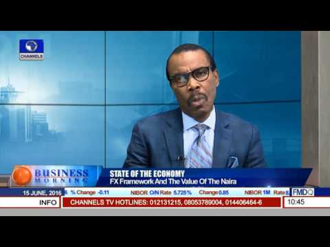 Business Morning: Focus On The State Of Nigeria's Economy Pt 2