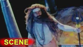 God Shiva Priest Fire On Mohan Babu     Rayalseema Ramanna Chowdary Movie   