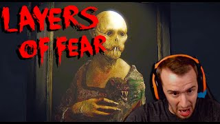 JUMPSCARES AND EVIL WHEELCHAIRS! - Layers of Fear | Part 2 [Indie Horror Game Playthrough]