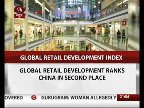 India overtakes China to top retail index