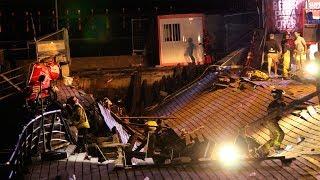 Así fue el accidente de O Marisquiño 2018 en el que se derrumbó el paseo del Puerto de Vigo