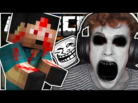 Minecraft | THE BOBBY SLENDER MAN TROLL!! | CRUNDEE CRAFT