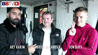 '2Smokes' Jon Kays and coach Daz McCarrick talk Commonwealth title shot on Brook-Spence undercard