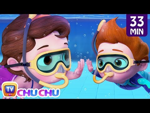 swimming-song-+-more-chuchu-tv-baby-nursery-rhymes-&-kids-songs