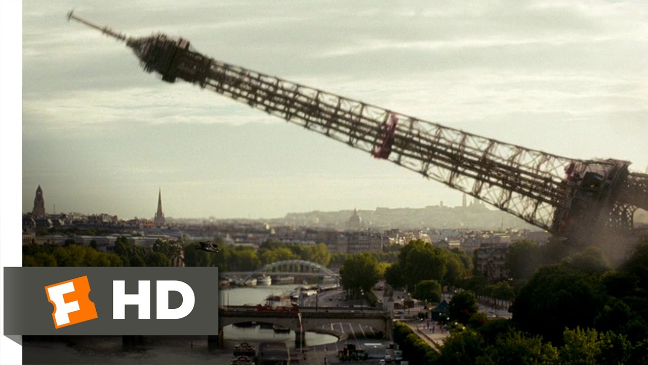 Download G.I. Joe: The Rise of Cobra (6/10) Movie CLIP - The Eiffel Tower Falls (2009) HD