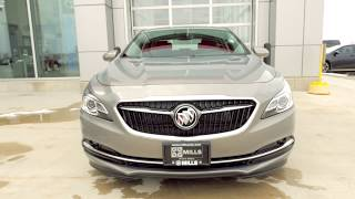 2018 Buick Lacrosse Available Features