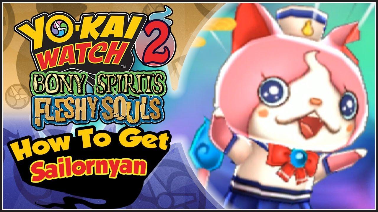 Yo-Kai Watch 2 - How To Get Sailornyan! [YW2 Tips & Tricks] - YouTube
