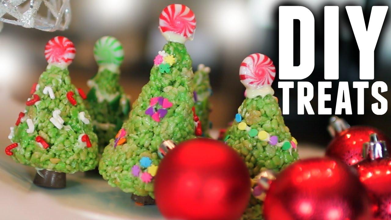 Diy easy holiday christmas tree treats youtube solutioingenieria Image collections