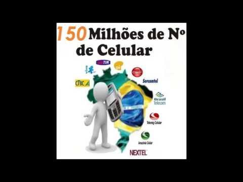LISTA DE TELEFONE CELULAR ATUALIZADA  BRASIL SÃO PAULO