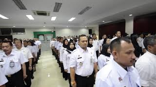 Apel Penandatanganan Komitmen Pelaksanaan Janji Kinerja Tahun 2019 Kanwil Kumham DKI Jakarta