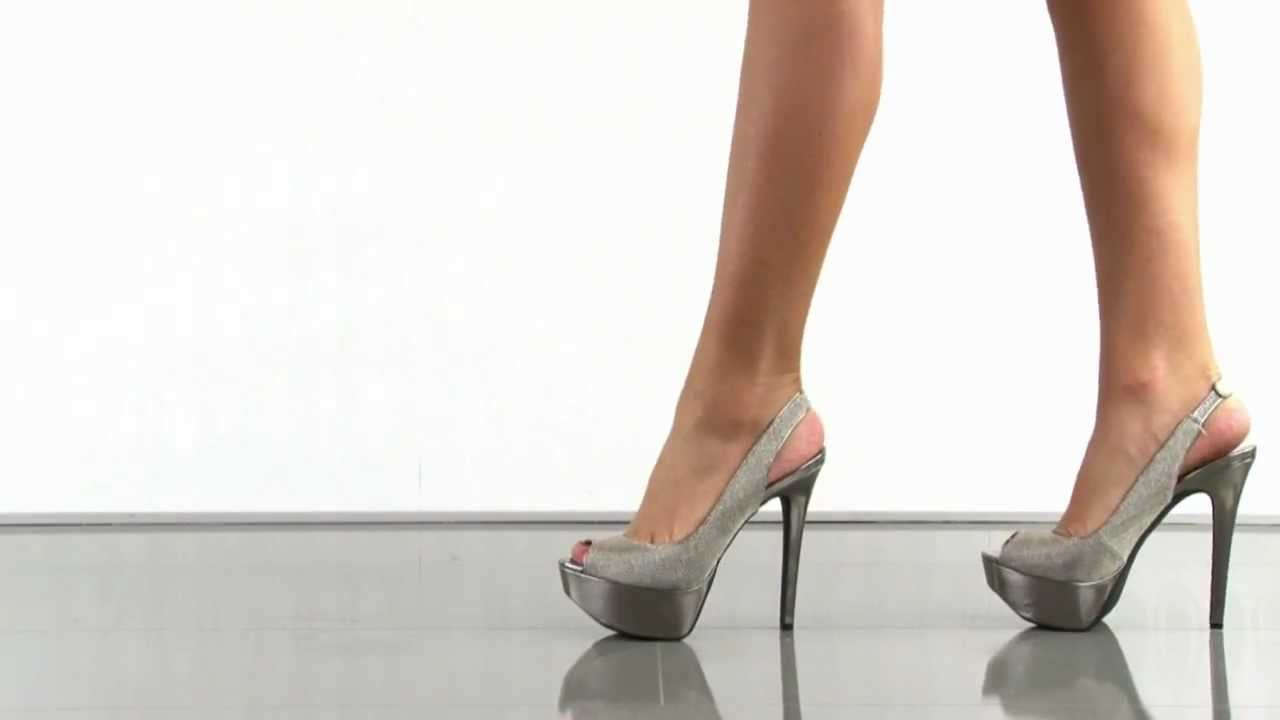 Jessica Simpson Halie 2 in Silver - YouTube