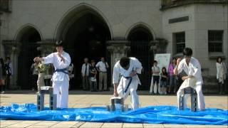 今年5月19日に五月祭にて行われた演武の模様です。 早稲田大学および明...