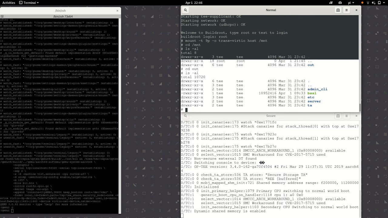 Using Trusted Execution Environment for TLS session signing