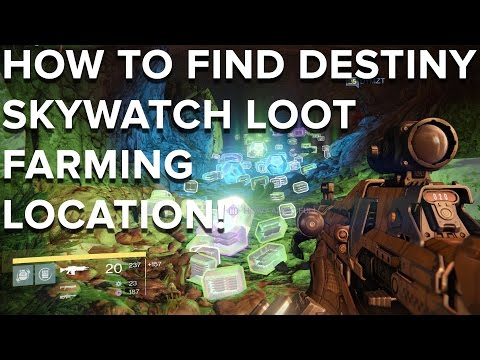 How to find Destiny Skywatch loot farming location - Eurogamer