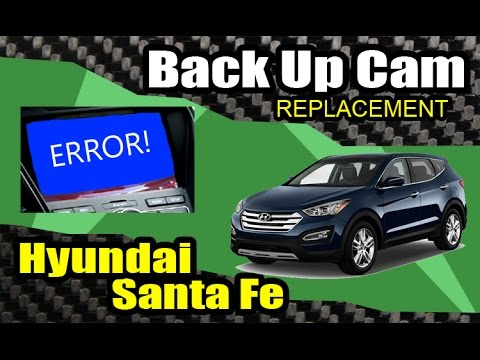 DIY: 2013+ Hyundai Santa Fe Back-Up Camera Replacement